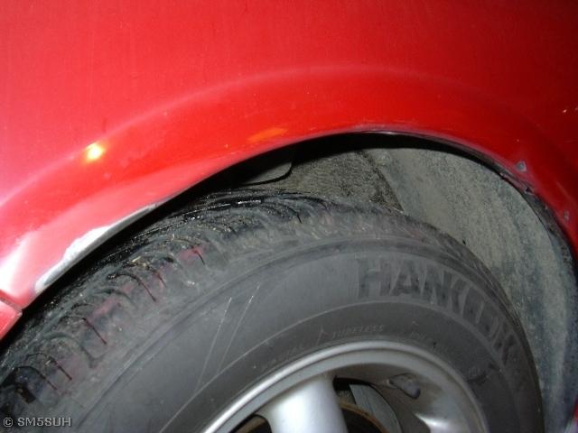 reparera lackskador på bil